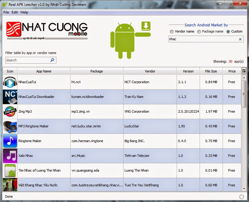 Android Apk Files Directly Download from PC