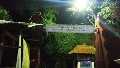 Ziarah Syekh Datuk Kafhi di Gunung Jati Cirebon