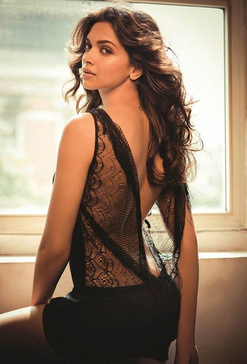 Deepika Padukone back open