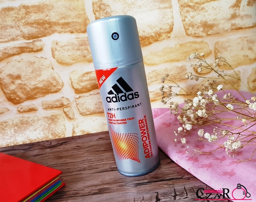 Antyperspirant ADIPOWER  72-godzinna ochrona przed poceniem oraz przykrym zapachem