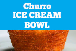 Churro Ice Cream Bowls Recipe