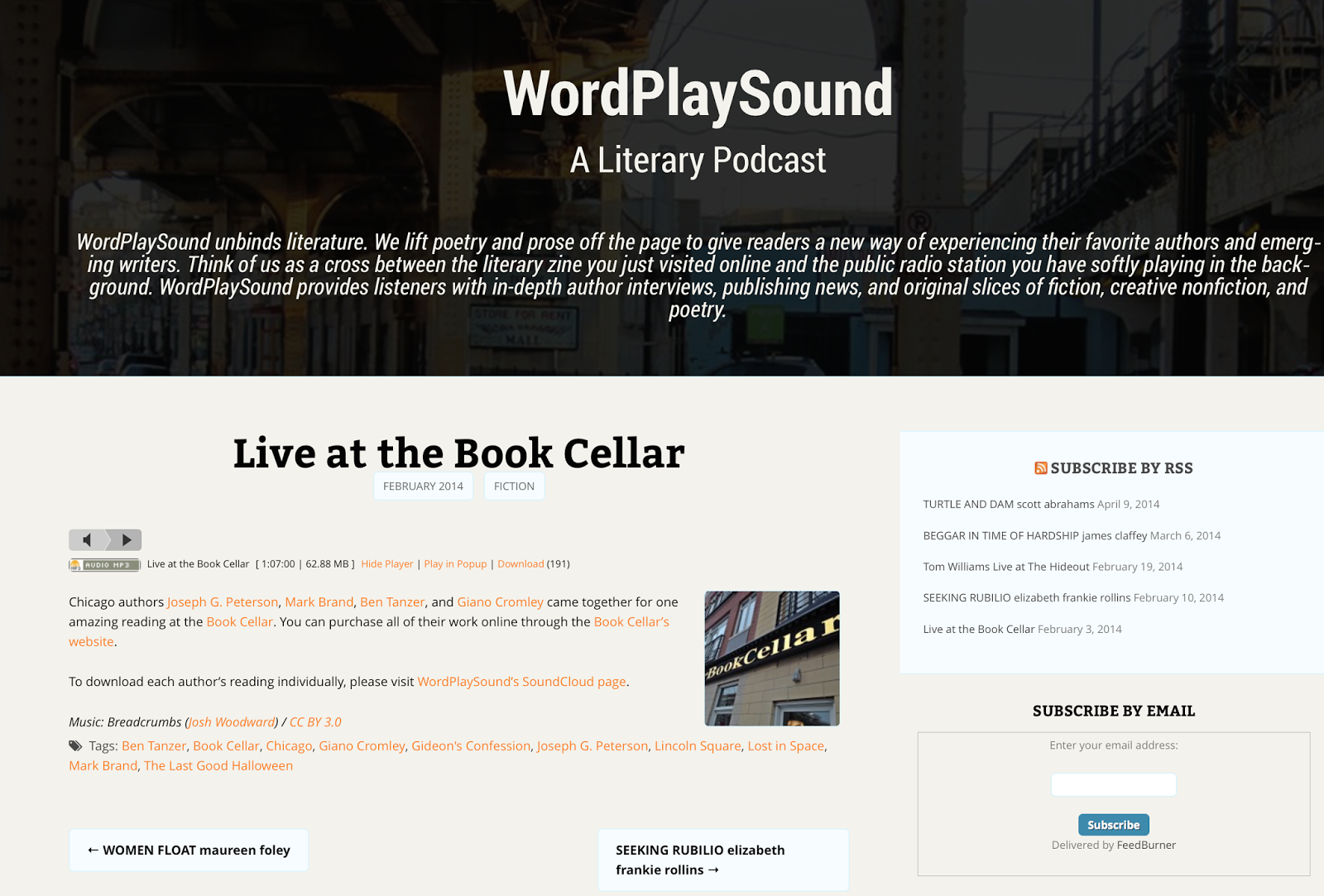 http://www.wordplaysound.com/live-at-the-book-cellar/