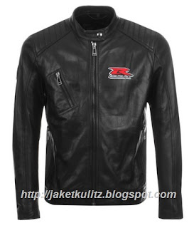 Gambar Jaket Kulit Sport Suzuki GSX