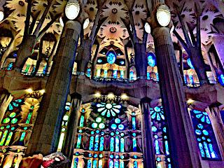 La luz es fundamental en el templo