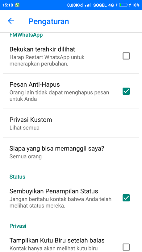 FMWA Privasi