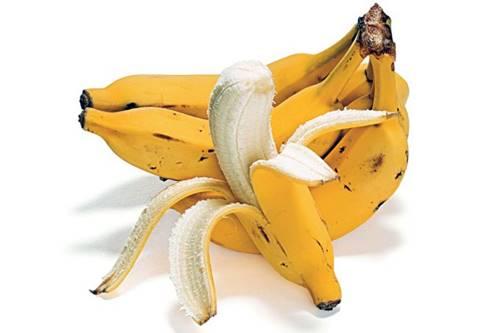 A banana está entre as principais fontes de potássio