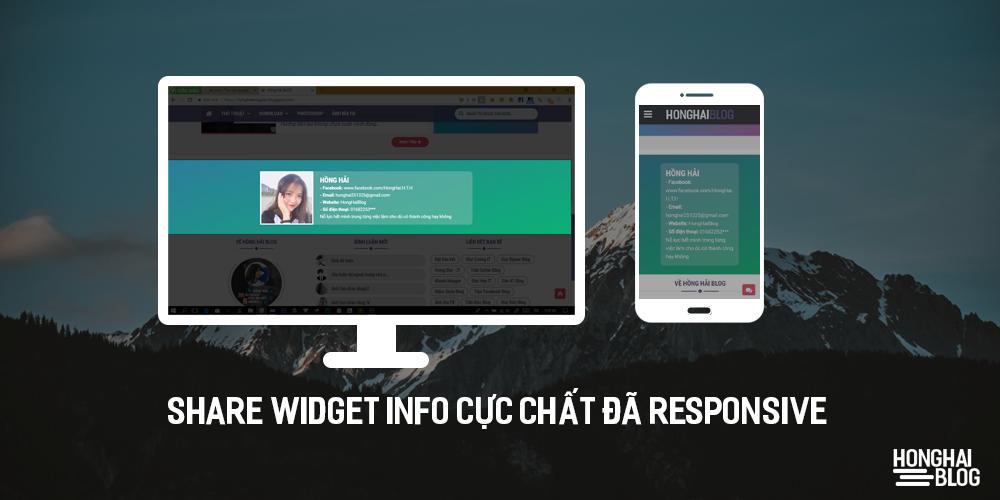 Share Widget Info Cực Chất Đã responsive