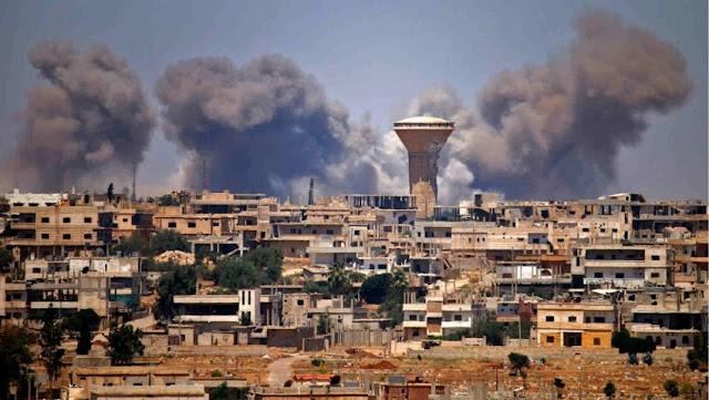Kota Daraa Suriah