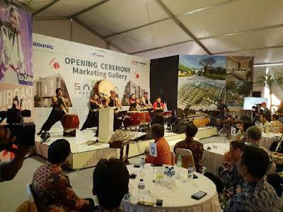 penampilan benteng taiko jepang opening ceremony marketing gallery savasa deltamas sinar mas land panasonic nurul sufitri blogger