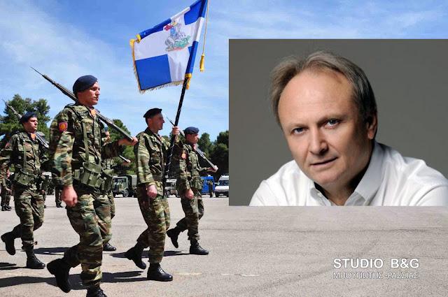 Απάντηση Καμμένου στην ερώτηση Ανδριανού για τον αποκλεισμό της Πελοποννήσου από το νέο σχεδιασμό για τα σημεία υποδοχής οπλιτών