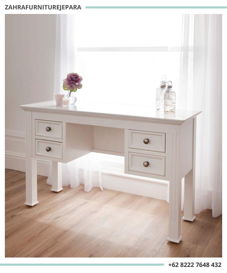 jual meja rias minimalis putih, set meja rias kamar minimalis, meja rias minimalis murah, meja rias jati