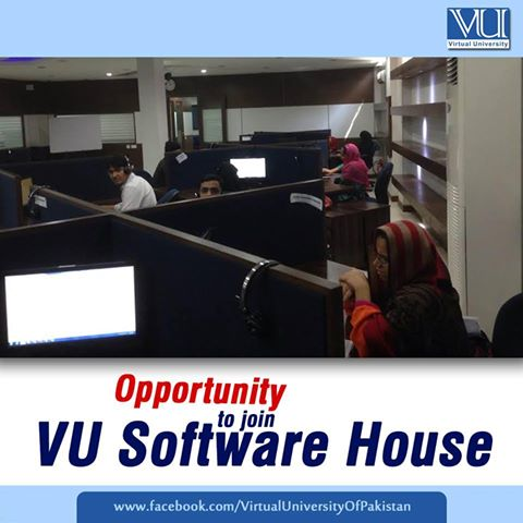 Opportunity to join VU Software House