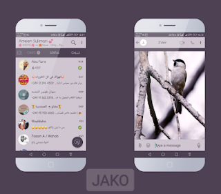 Bird Theme For YOWhatsApp & Fouad WhatsApp By Jako