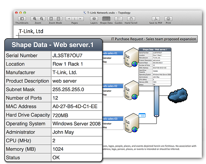 Visio Viewers for Mac, iPad and Android Tablets: VSD Viewer