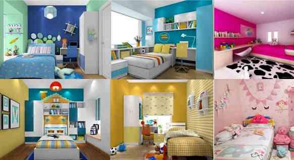 Ruangan kamar rumah minimalis type 36