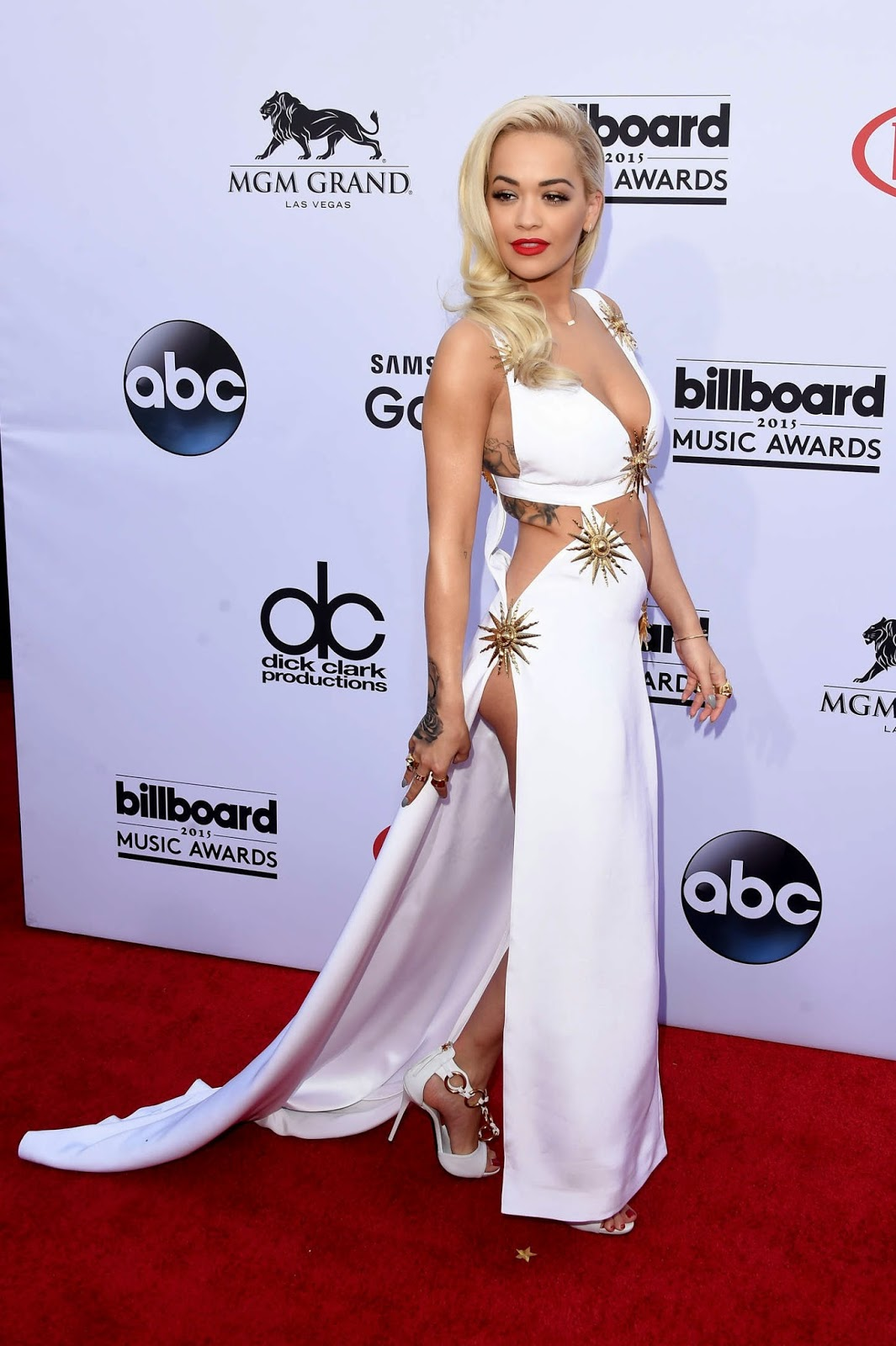 Revealing And Exploring Meaning In The Tarot: Rita Ora Wears A Revealing Outfit To The 2015 Billboard