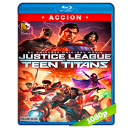 Justice League vs Teen Titans (2016) Full HD 1080p Audio Dual Latino-Ingles (Pesado)