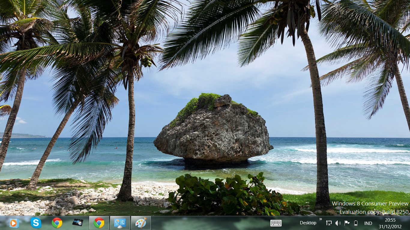 Free Download Windows 8 Themes Caribbean Shores Theme