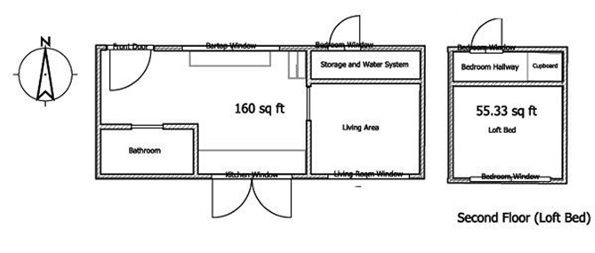 01-Apartment-Floor-Plan-Leaf-House-Architecture-of-a-Tiny-Home-on-Wheels-www-designstack-co
