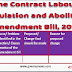 The Contract Labour (Regulation and Abolition) Amendment Bill 2017