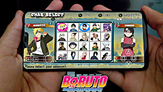 BOMBA!! SAIU MOD DE (BORUTO) NARUTO NEXT GENERATIONS PARA ANDROID/PPSSPP [LEVE/OFFLINE] NARUTO ULTIMATE HEROES