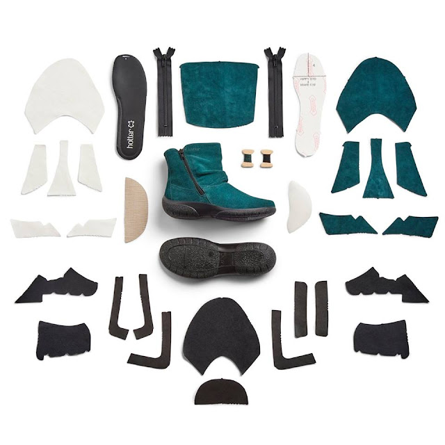 #HotterWakies : The Whisper Boot Is Perfect For Winter Dog Walks! The 32 components of the Whisper boot