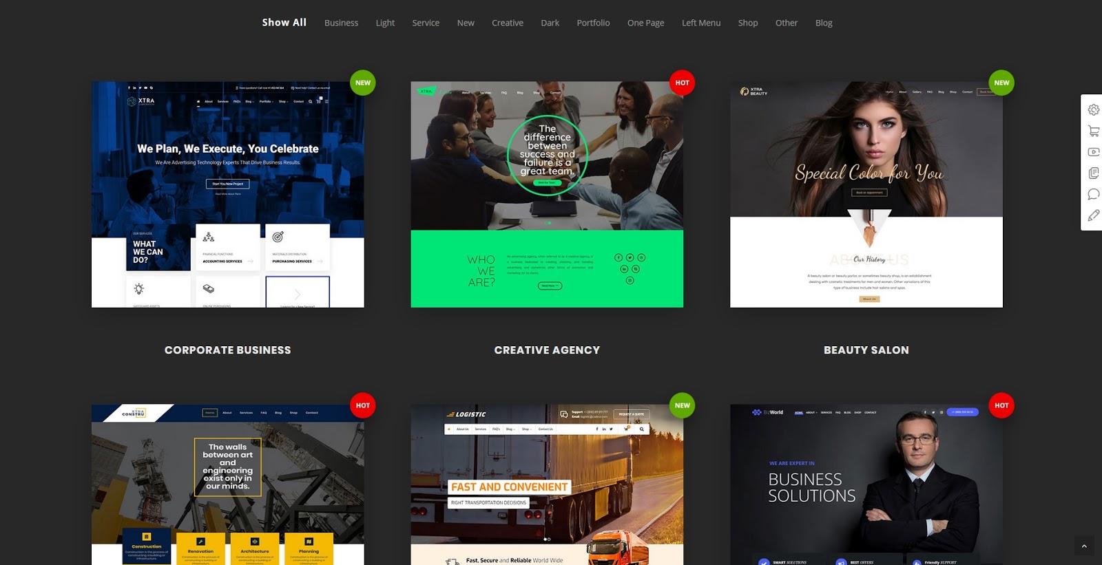 XTRA - Multipurpose WordPress Theme - Chia Sẻ Giao Diện