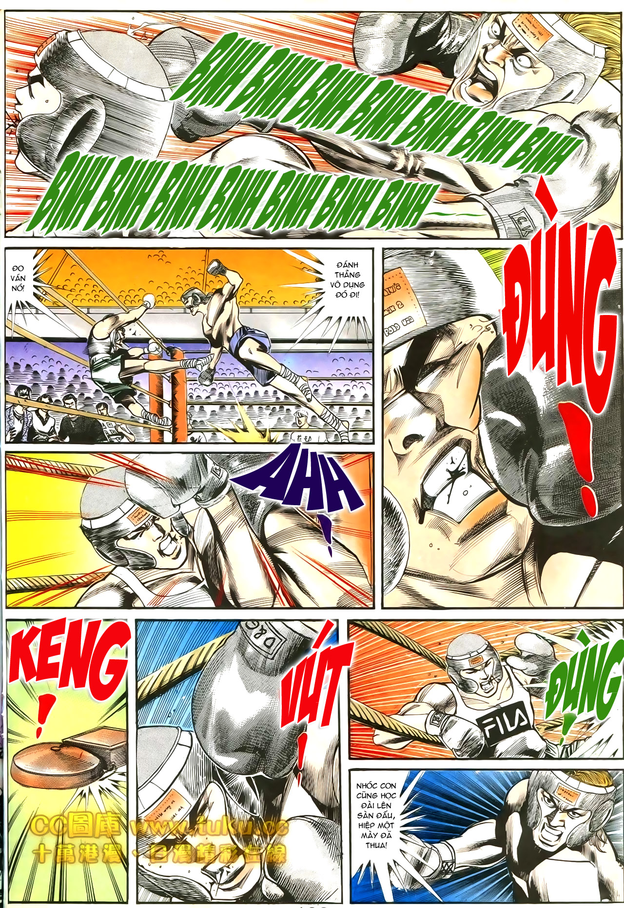 Người Trong Giang Hồ chapter 188: chiến nô trang 11