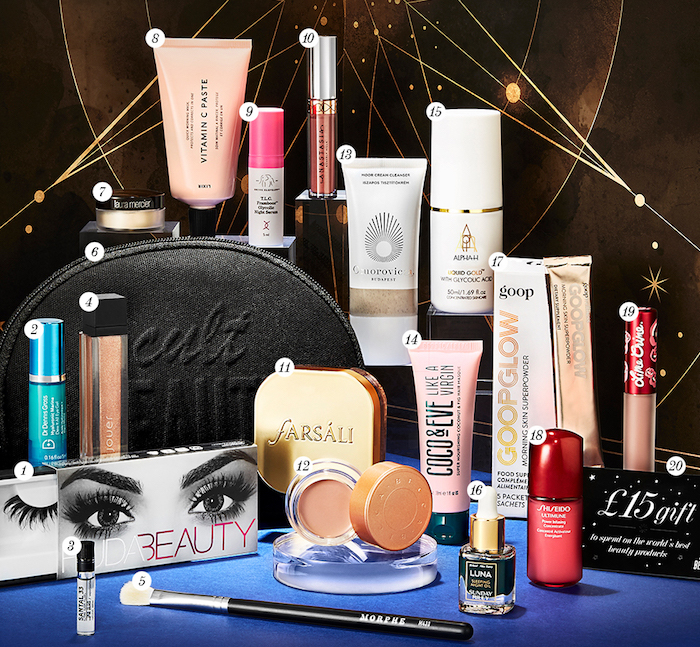 Here are the full spoilers and contents of the Cult Beauty Best of 2018 Goody Bag, a makeup and skincare GWP that ships worldwide free.