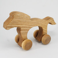 WA07, Horse, Lotes Wooden Toys