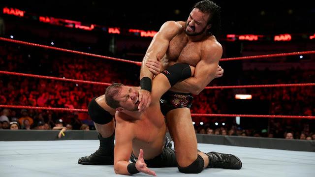 WWE Raw Dolph Ziggler & Drew McIntyre def. The B-Team; Dean Ambrose & Seth Rollins
