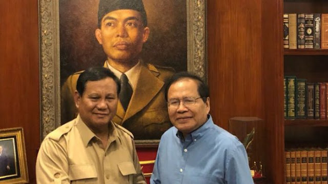 Temui Prabowo, Rizal Ramli: Kebijakan Kita Pro Impor, Mengacak-acak Kedaulatan Energi