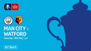 Final Piala FA: Manchester City vs Watford