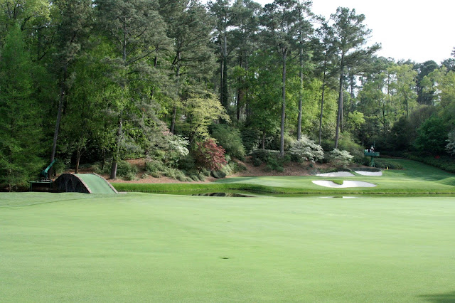 Augusta National 12th hole is named Golden Bell