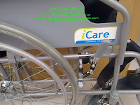 Bagian Rem Kursi roda Icare