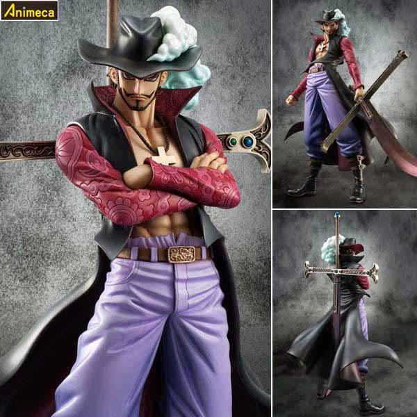 """Hawk Eye"" DRACULE MIHAWK Ver.2 NEO-DX EXCELLENT MODEL P.O.P FIGURE ONE PIECE MEGAHOUSE"