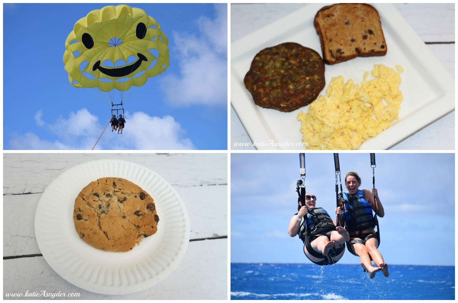 my meals monday parasailing