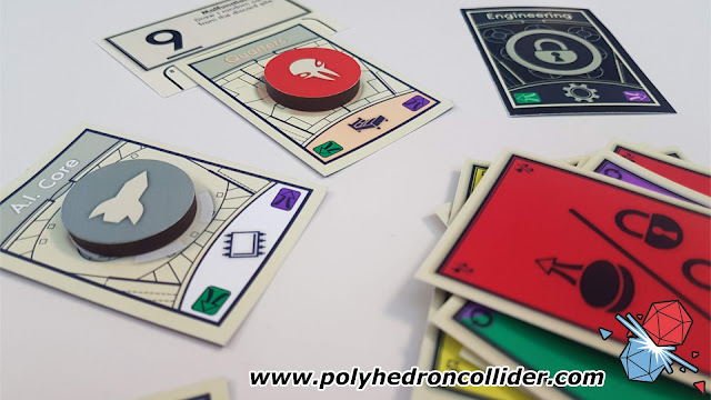 Polyhedron Collider Assembly Review - In Play Close Up