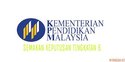 Semakan Keputusan Kemasukan Tingkatan 6 Sesi 2018