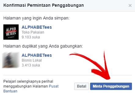 Cara Menggabungkan Dua Halaman Facebook Jadi Satu