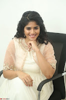 Megha Akash in beautiful Cream Transparent Anarkali Dress at Pre release function of Movie LIE ~ Celebrities Galleries 022.JPG