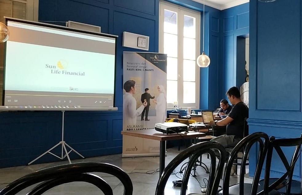 tempat acara kopdar Sun Life Finansial bersama blogger di Rosti Cafe (Dok.Pri)