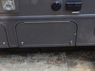 Winnebago Fuse LP access cover