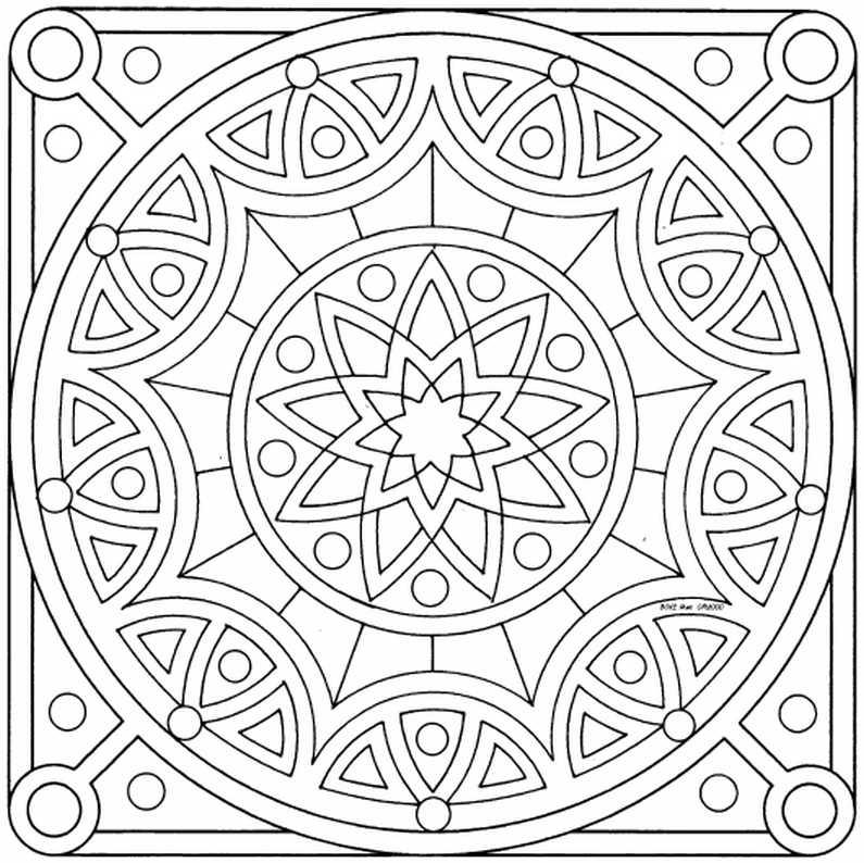 Mandalas Para Pintar: mandalas para pintar