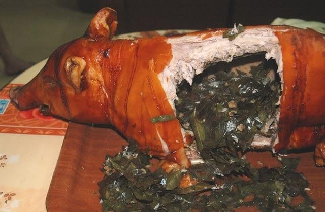 Lai giữa lợn rừng và lợn Mường, lợn cắp nách trông khá nhỏ, khi bắt, được người dân kẹp trọn ở nách nên có tên gọi như vậy. Loại lợn này được nuôi thả và ăn rau củ dại trong rừng nên thịt nạc, chắc, không mỡ nhiều.