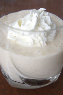 Eggnog Milkshake: Savory Sweet and Satisfying