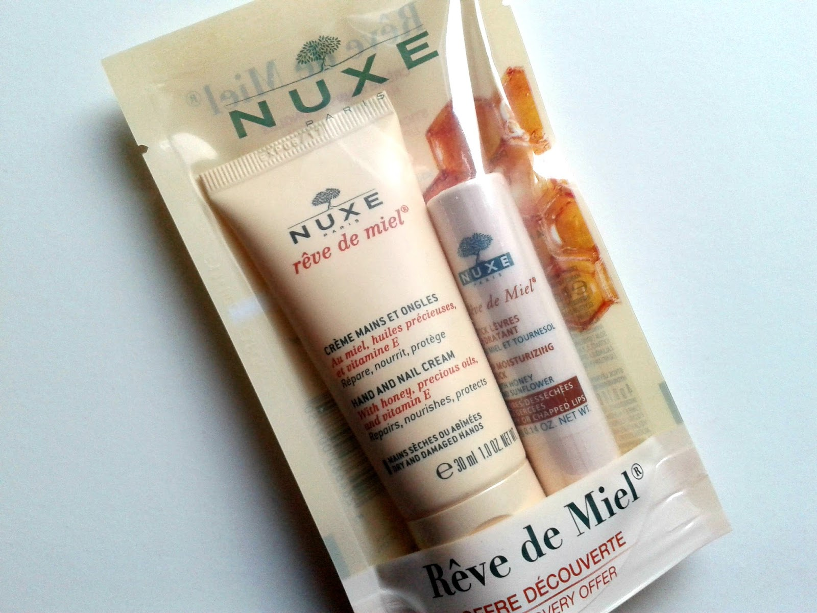 Nuxe Reve De Miel Must Haves
