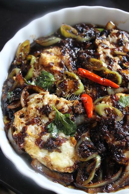 Telur Masak Kicap Blackpepper Mudah dan Sedap