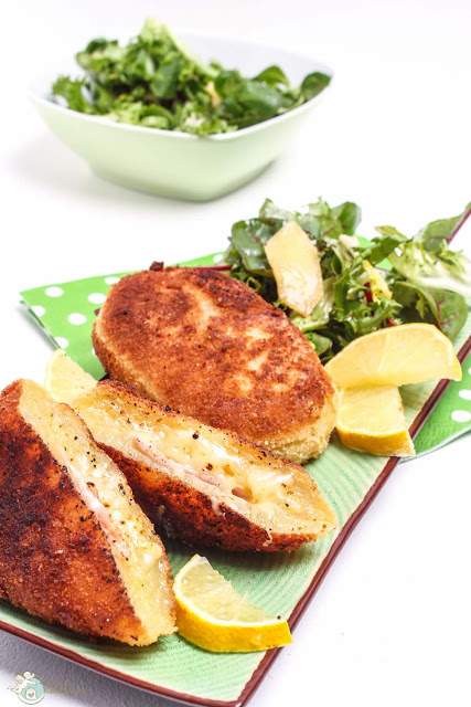 Kartoffel Cordon Bleu