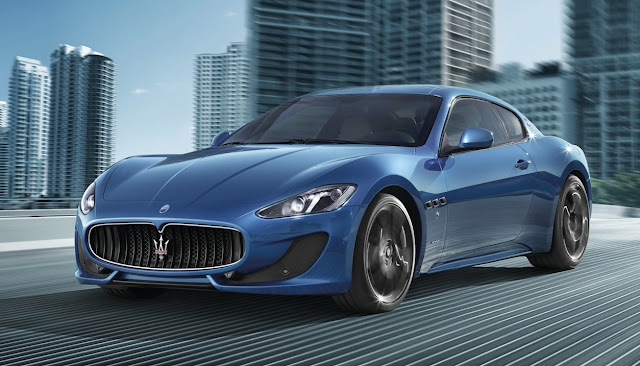 2014 Maserati GranTurismo Sport blue